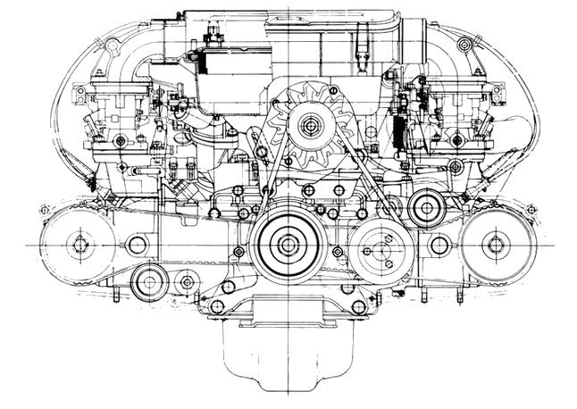 alfa romeo alfasud boxer engine