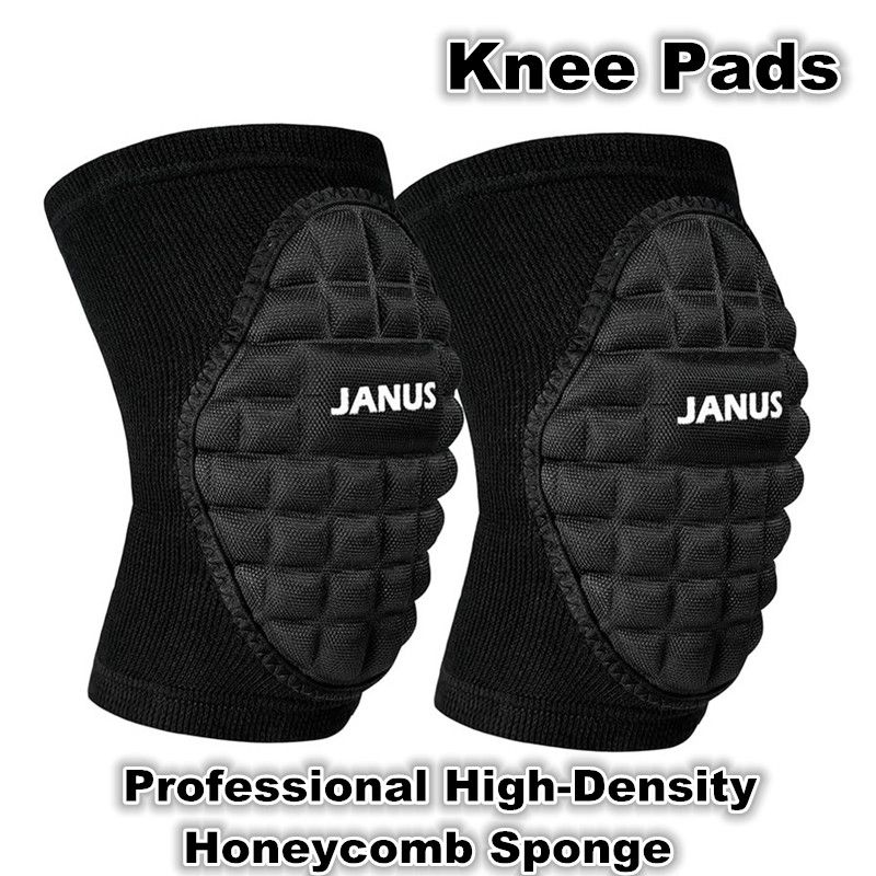 Professional Sports Dance Knee Pads Volleyball Basketball Soccer Football Knee Protection High Density Hon Professional Volleyball Knee Pads Sports Accessories