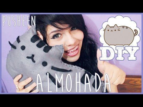 How To Make A Baby Pusheen Cat Plushie Pocket Tutorial - YouTube