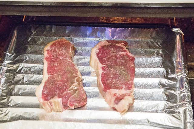 How to cook a beef loin strip steak in the oven