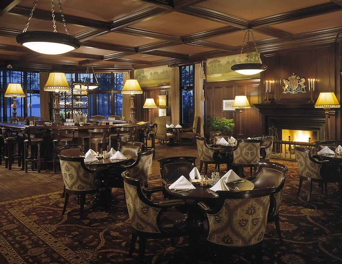 Sea Island Restaurants Oak Room Bar