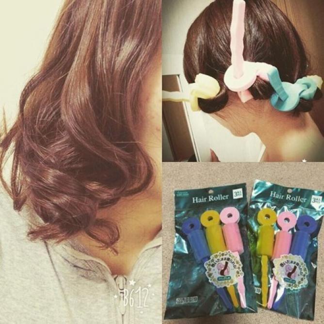 100均のカーラーでok きれいな巻き髪を作るコツ 髪 巻く 巻き髪