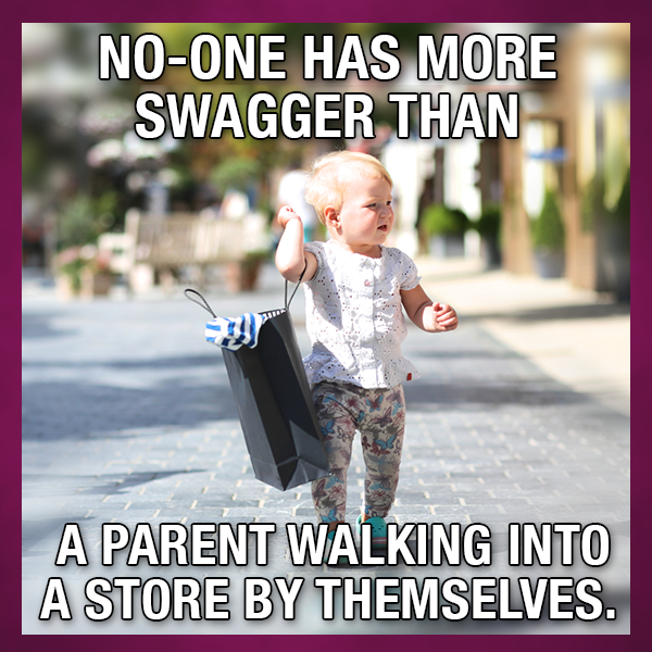 Going Shopping Without The Kids Is A Rare Treat These Days Parentingmemes Parentingmoments Parentinghumor Pa Parenting Memes Parenting Humor Learn To Read
