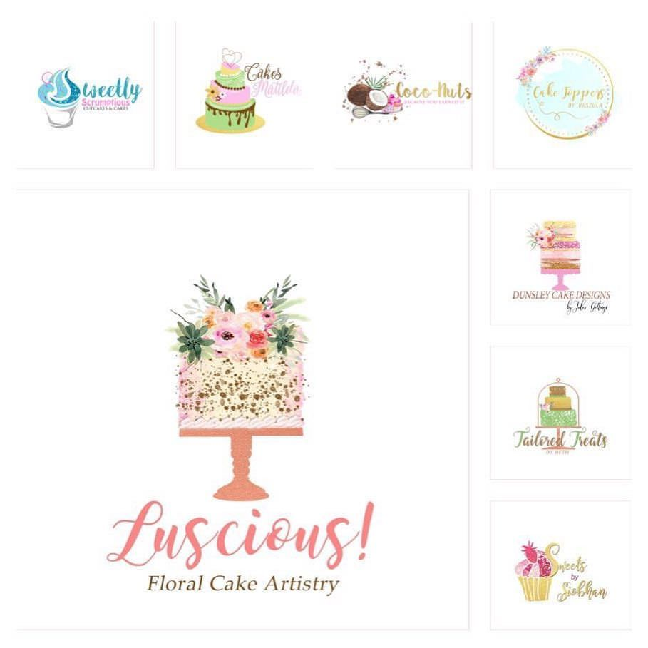 Kuchen Logo Pin By Ooo On Logo Pinterest