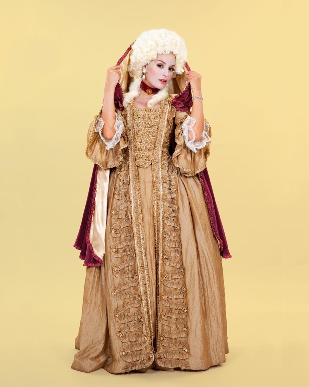 Regal Georgian Costume Hire At Angels Fancy Dress Angel Fancy Dress Dresses Costume Hire