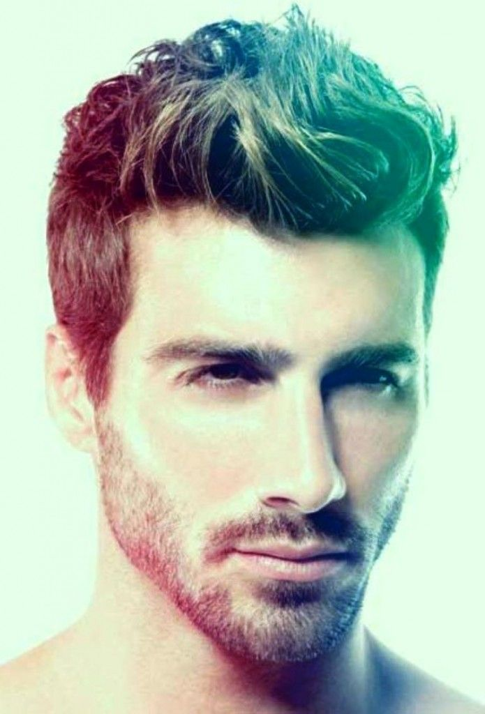 Messy Hairstyles For Short Fine Hair Mens Haircuts 2014 Mens