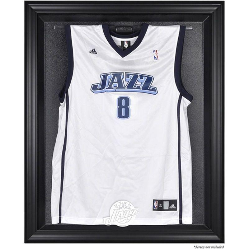 Utah Jazz Fanatics Authentic Black Framed Team Logo Jersey Display ...