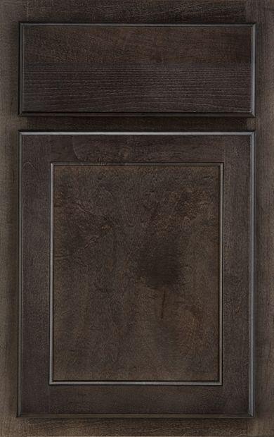 Mastercraft Cabinets Maple Smoke Master And Second Bathroom