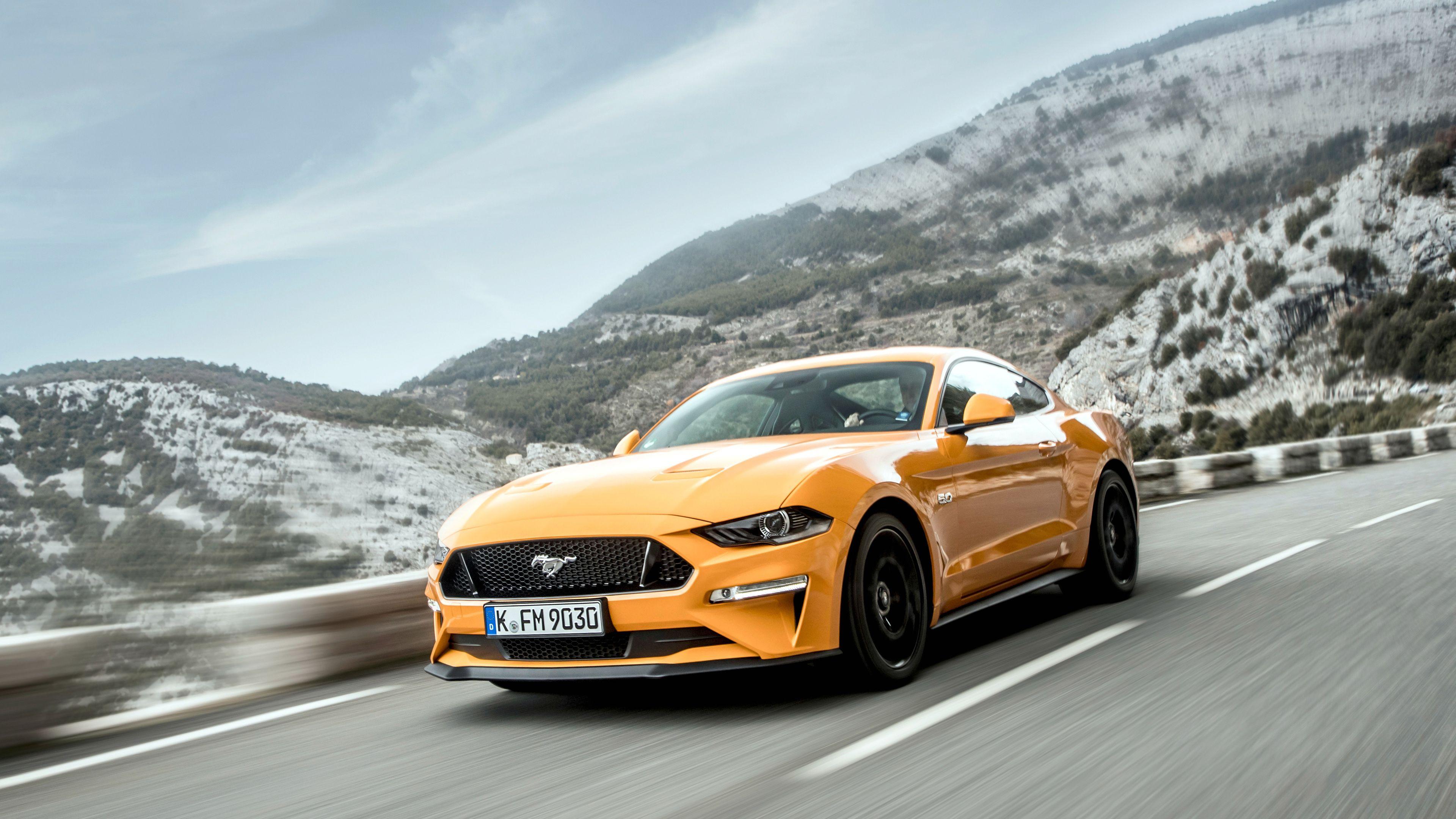 Wallpaper 4k Ford Mustang Gt Fastback 2018 Cars Wallpapers 4k
