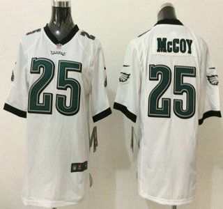 nike philadelphia eagles jersey 25 lesean mccoy white game youth jerseys