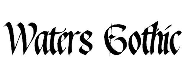 35 Awesome Free Gothic Fonts for Designers   Gothic fonts, Gothic ...