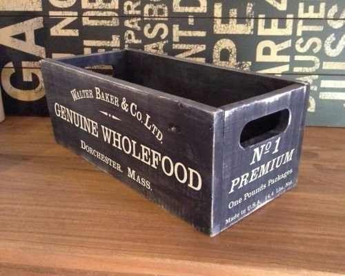 16 Venta de cajas de madera recicladas