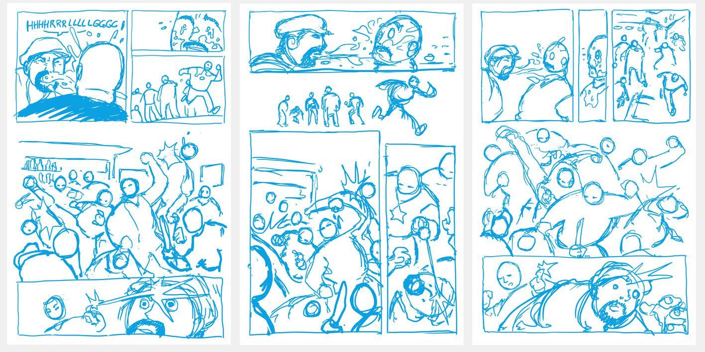 Auf meiner Lieblings-Comic-Info-Seite comicbookresources.comwurde jüngst eine neue Runde 'Temptation's Page' ausgerufen. Dabei geht es darum, den Text eines US-Profi-Comic-Schrei…