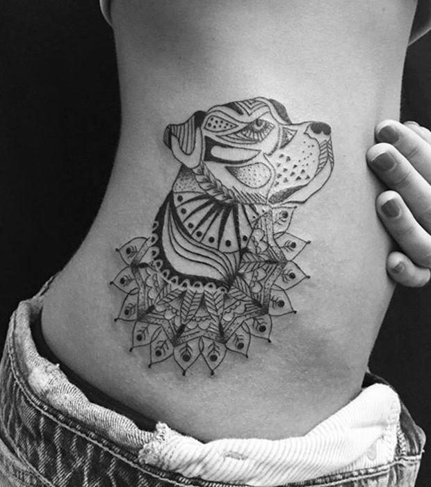 Pin Auf Dottie The Dogo Argentino Tattoos