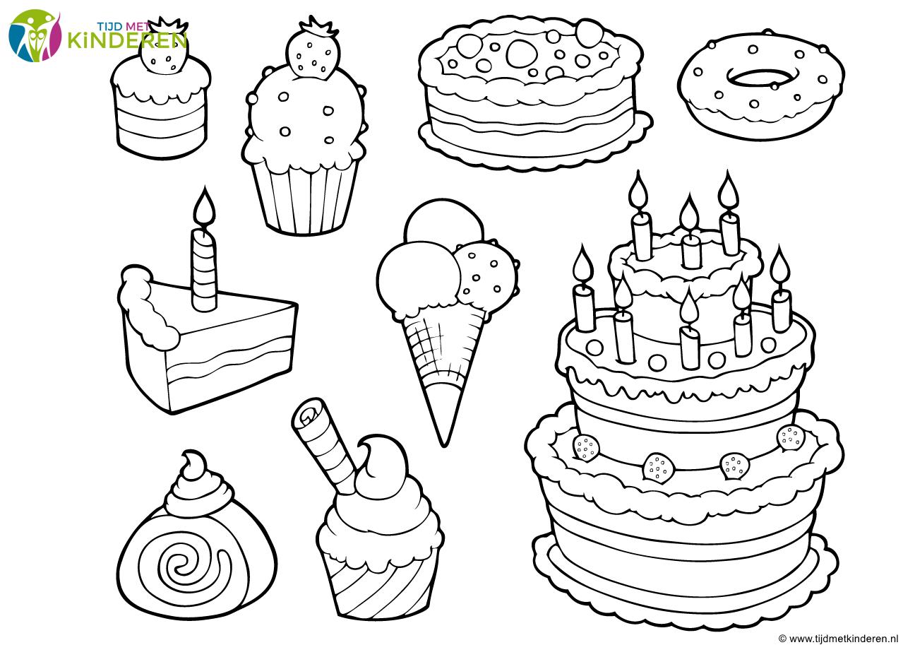 kleurplaat lege cupcake kleurplaat lege cupcake kleurplaat