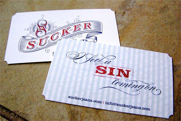Vintage Business Cards Model Pin In Invitations By Leon