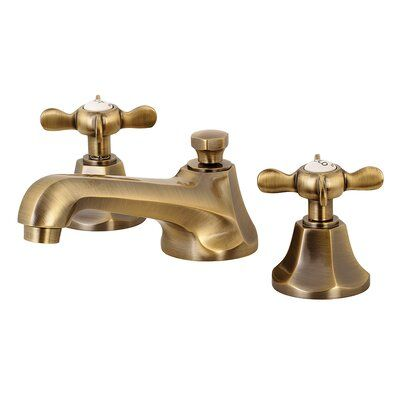 Kingston Brass Essex Widespread Bathroom Faucet With Drain Assembly Birch Lane In 2020 Bathroom Faucets Widespread Bathroom Faucet Lavatory Faucet