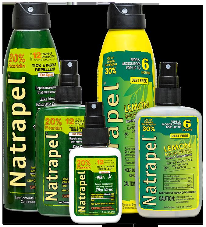 Home Natrapel Insect Repellent Mosquito Repellent Deet Free
