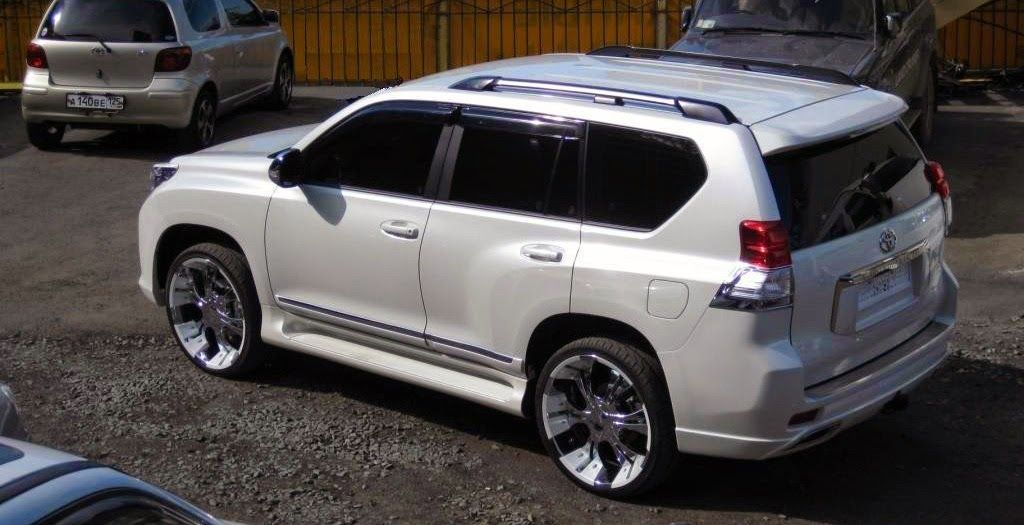 Toyota Land Cruiser 150 Prado Elford Bodykit Toyota Land Cruiser 150 Toyota Land Cruiser Land Cruiser