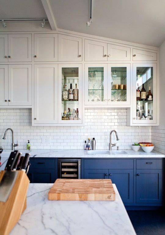 Navy Blue Kitchen Trend Ideas Blue Gray Kitchen Cabinets