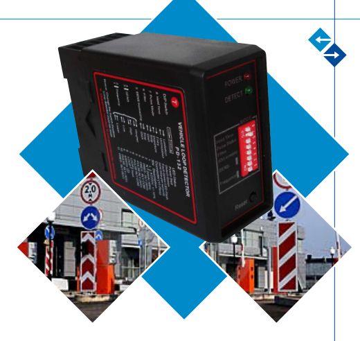 12VDC 24 V 230 V 120 V single channel détecteur de boucle inductive