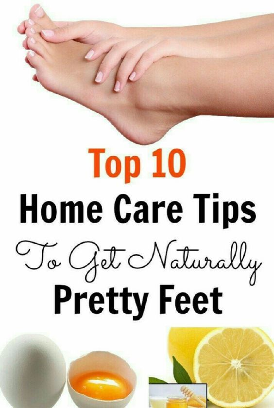 feet care at home
