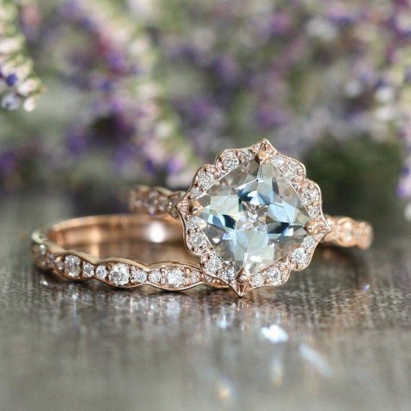 18 Brilliant Vintage Wedding Engagement Rings