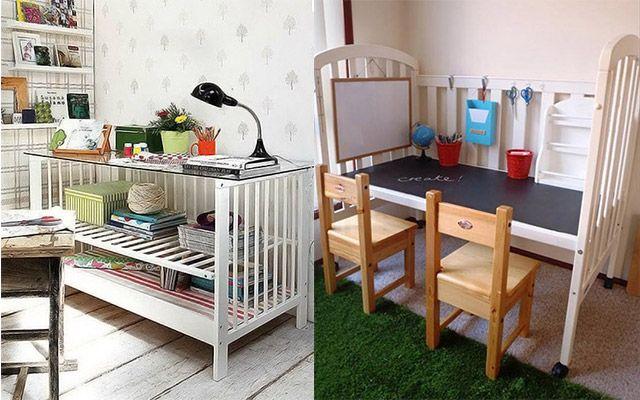 Muebles DIY con cunas - Muebles y decoración - Compras - Charhadas ...