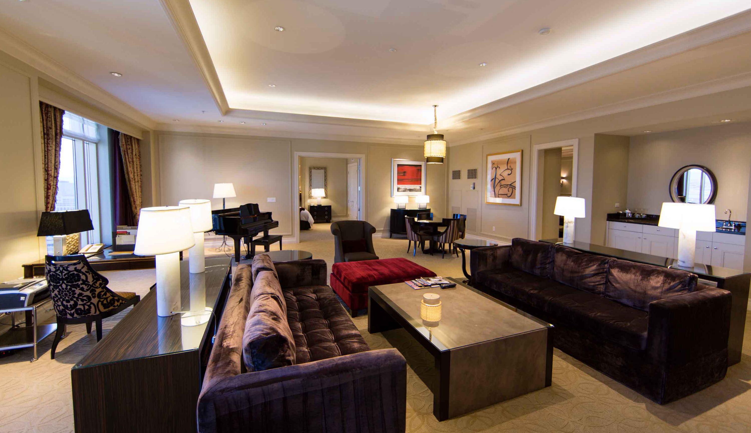 Lago Media Suite At Palazzo Pretty Vegas Hotel Suites Pinterest Vegas Las Vegas Suites
