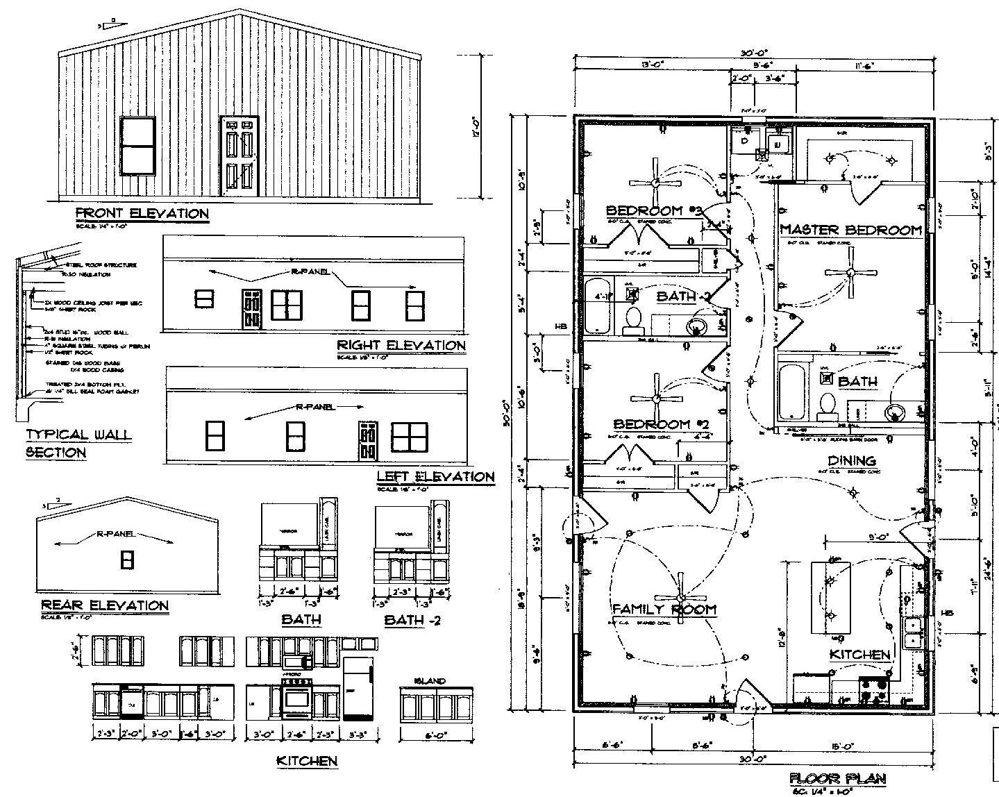 Rau Builders new 1500 sq ft Barndominium Special