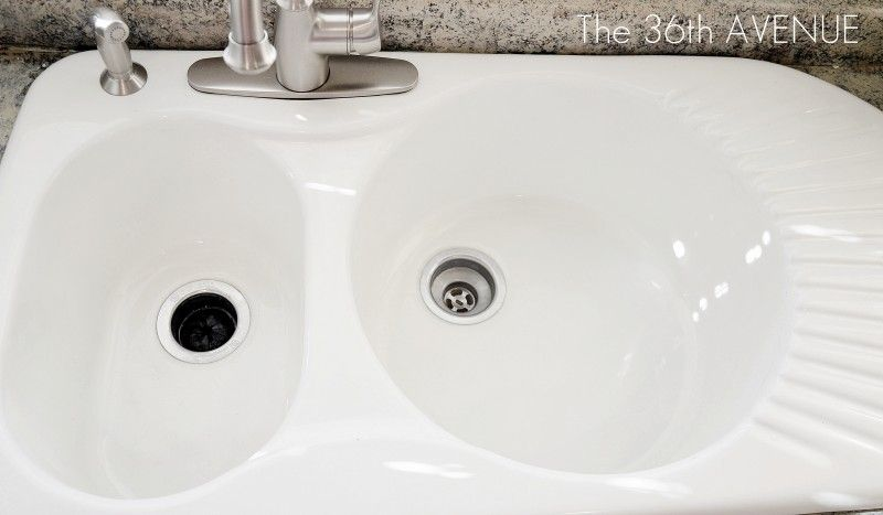 How To Clean A Porcelain Sink Clean Clean Porcelain