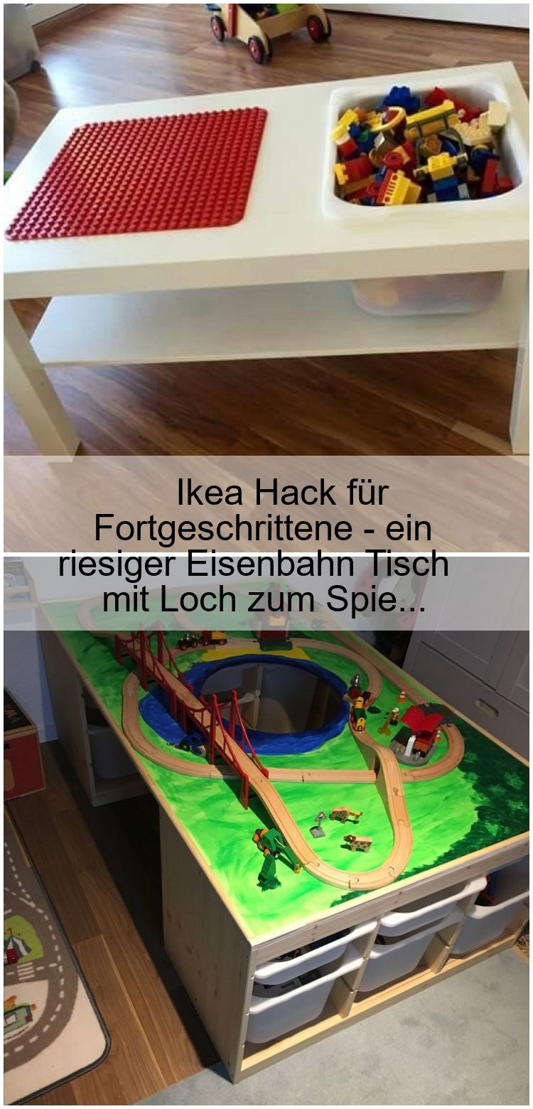 Ikea Hack Fur Fortgeschrittene Ein Riesiger Eisenbahn Tisch Mit