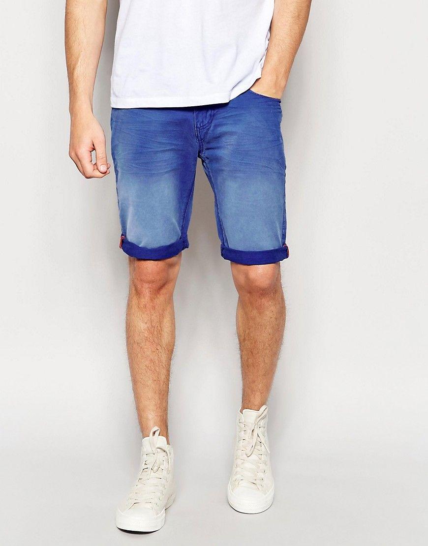 Image 1 ofSuperdry Denim Shorts