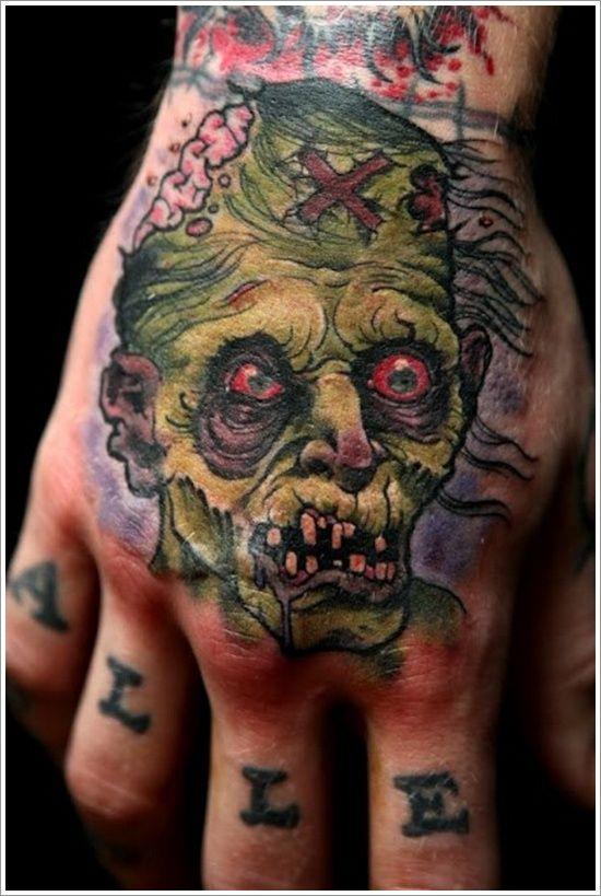 Zombi Tatuajes Ideas De Diseño Tattos Tatuajes Diseños Para