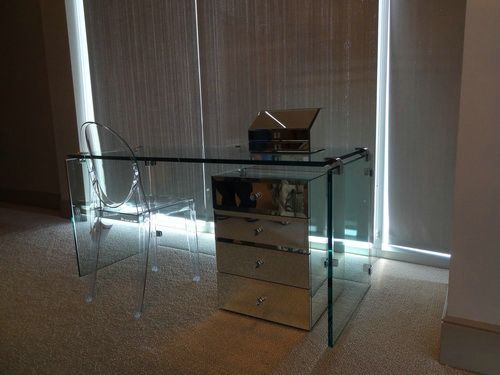 Glass Vanity Table Glass Table Designs Glass Vanity