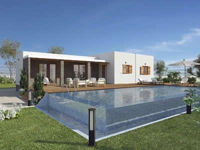 Novo habitat casas de madeira casa f rias house e wood - Feria de casas prefabricadas ...
