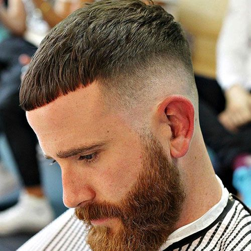 51 Cool Short Haircuts And Hairstyles For Men Mid Skin Fade Short