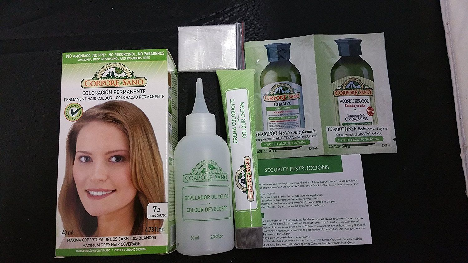 Corpore Sano Permanent Hair Color Does Not Contain Ppd Ammonia