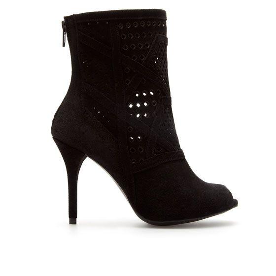 zara open toe boots
