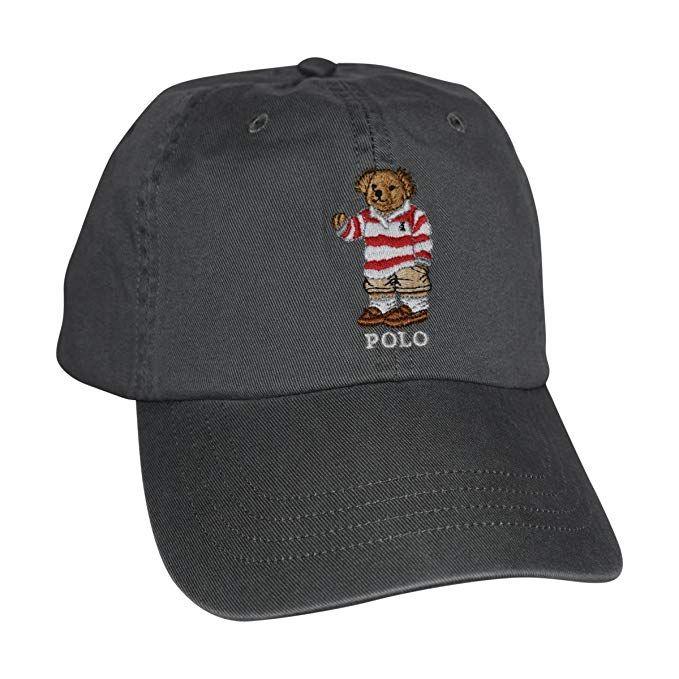 95e3eaf468e Polo Ralph Lauren Mens Teddy Bear Adjustable Ball Cap Hat (One Size ...