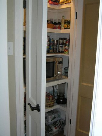 What Size Should A Step In Corner Pantry Be Kitchens Forum
