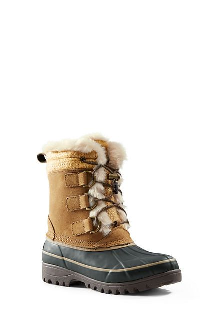 Women's Hillary Short Snow Boots from Lands' End