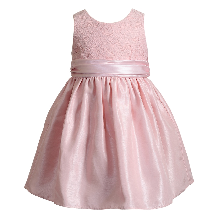 Girls 4-6x Youngland Lace Bodice Dress, Pink