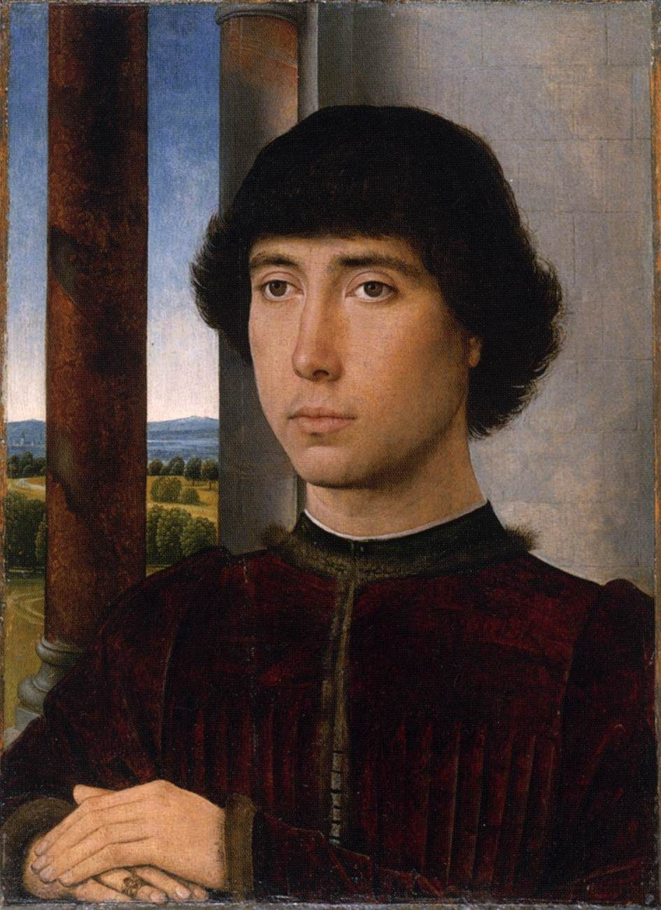 hans memling 1430 1494 portrait of a man 1400 s