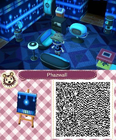 Animal Crossing New Leaf Qr Codes Wallpaper Google Search With