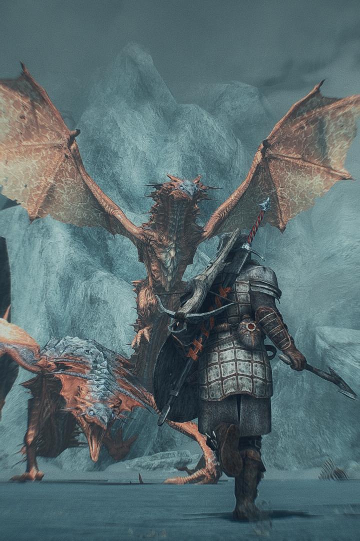 double dragon games skyrim elderscrolls be3 gaming videogames