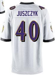 $78.00--Kyle Juszczyk White Elite Jersey - Nike Stitched Baltimore ...