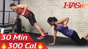 28 min total body strength workout with weights  strength