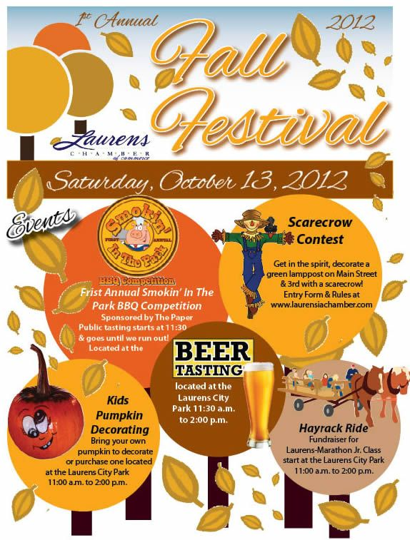 Pin By Howon Lee On Fall Festival Flyers