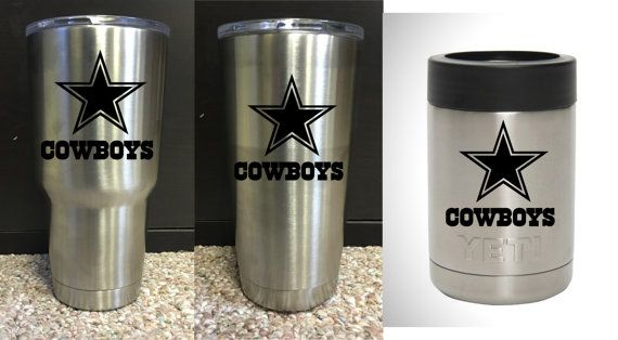 Dallas Cowboys Yeti Rambler 30oz Or 20oz Or By